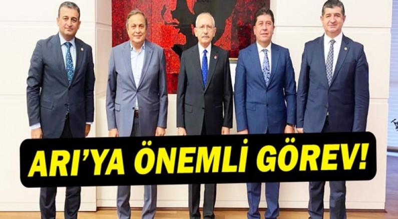 Antalya Milletvekili Av. Cavit ARI'ya CHP Genel Merkezinden Önemli Görev.