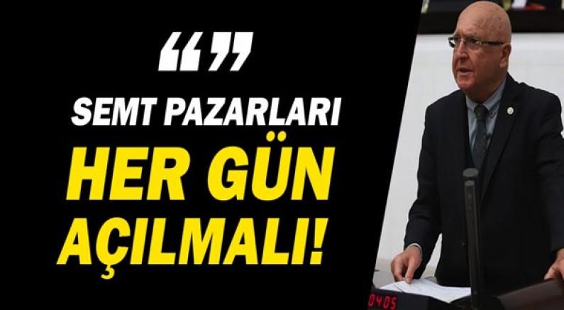 Antalya Milletvekili Hasan Subaşı, çöpe dökülen tarım ürünlerini Bakan Soylu'ya sordu