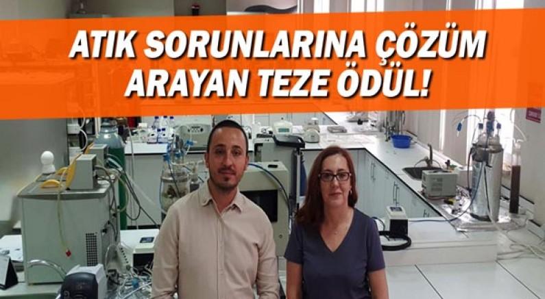 Antalya'nın organik atık sorunlarına çözüm arayan teze ödül
