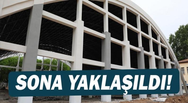 Antalya'nın simge yapısı yeniden ayağa kalkıyor