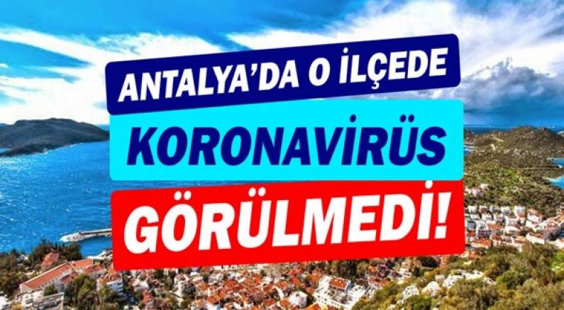 Antalya'nın turizm cennetinde koronavirüs görülmedi!