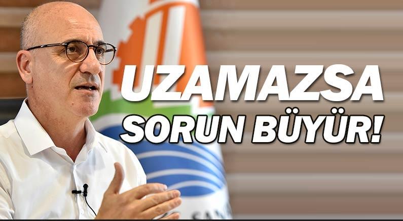 Antalya OSB Başkanı Ali Bahar, kısa çalışma uzamazsa işten çıkarmalar...