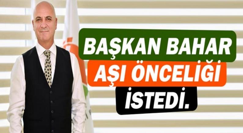 Antalya OSB Başkanı Ali Bahar: Sanayiciler ve çalışanlar için aşı önceliği istedi!