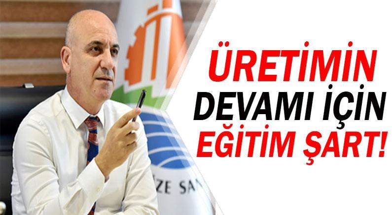 Antalya OSB'de ders zili çaldı.