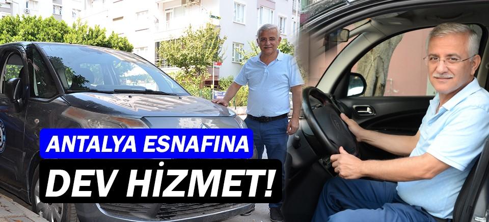 Antalya Oto Tamirciler Odası'ndan Mobil Evrak Aracı!