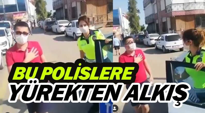 Antalya polisinden alkışlanacak özveri...