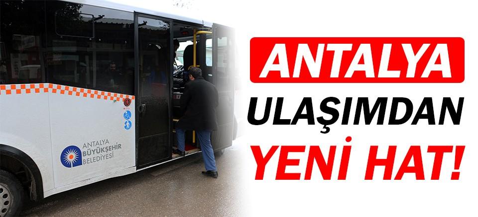 Antalya Ulaşımdan 527 Pınarlı-Kundu hattı