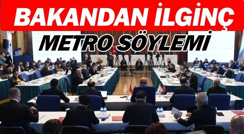 Antalya'ya metro mu gelecek... Bakanlıktan metrolu açıklama.