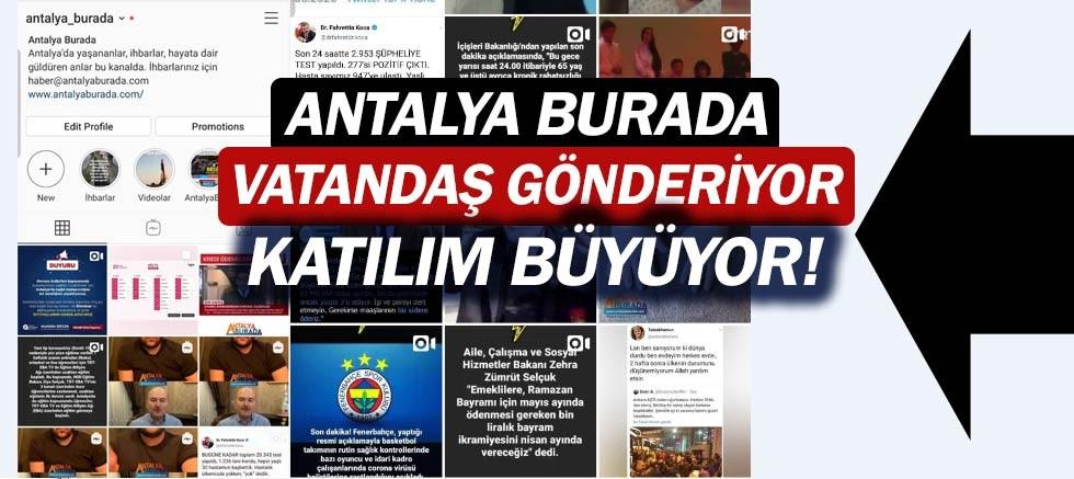 AntalyaBurada instagram hesabında ilginç yorumlar.
