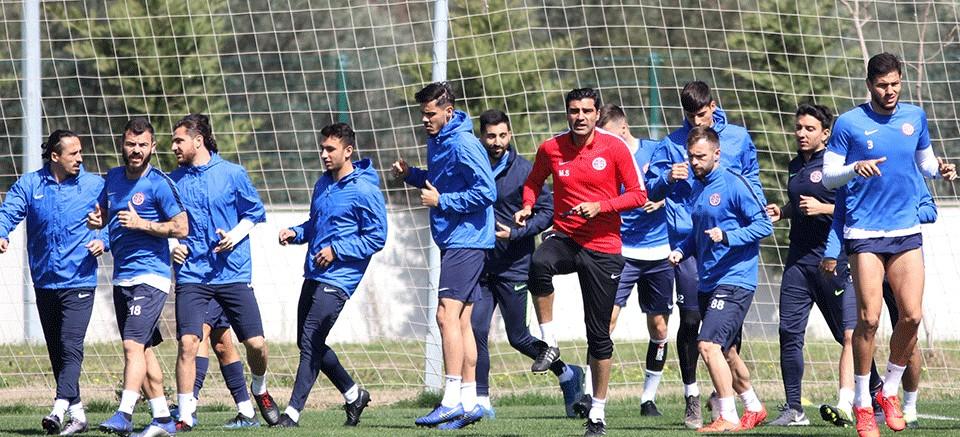 Antalyaspor,  Aytemiz Alanyaspor maçı hazırlıklarında!