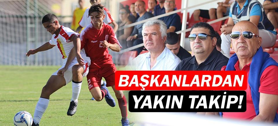 Antalyaspor başkanlarından alt yapıya yakın takip!