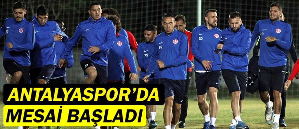 Antalyaspor'da mesai başladı