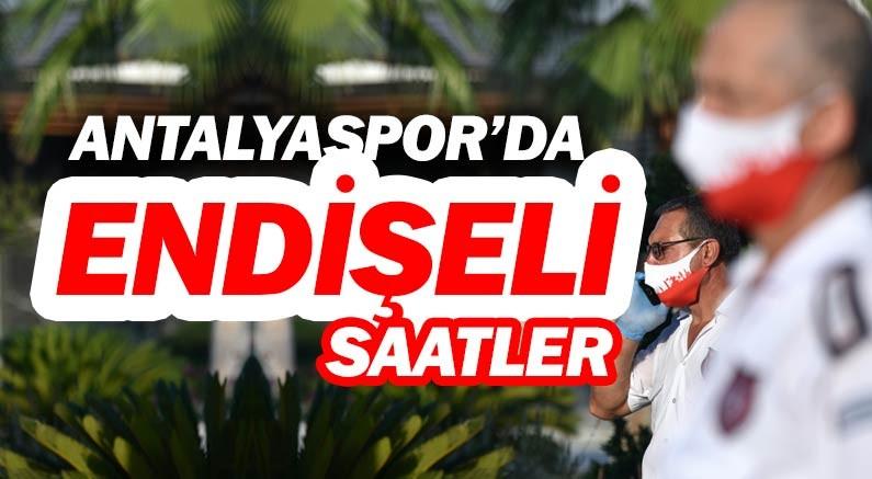 Antalyaspor'da yaşanan corona krizi sonuçlandı!