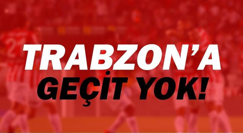 Antalyaspor'dan Trabzon'a geçit yok!