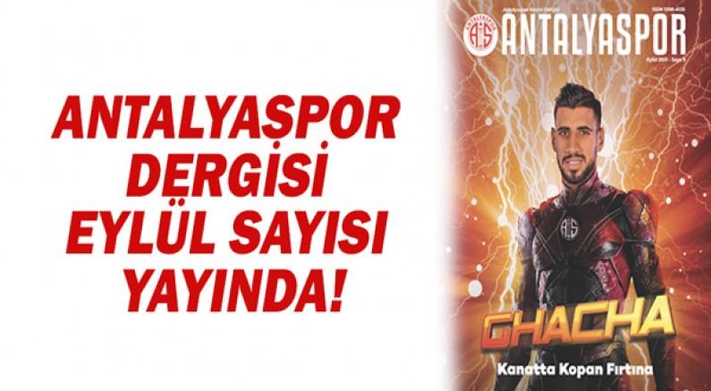 Antalyaspor Dergisi Eylül Sayısı Yayında!