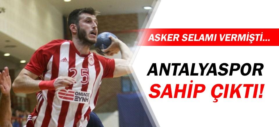 Antalyaspor, Durmuş Ali Tınkır'a sahip çıktı!