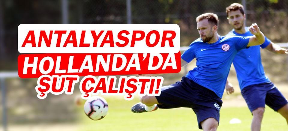 Antalyaspor, Hollanda'da şut çalıştı!