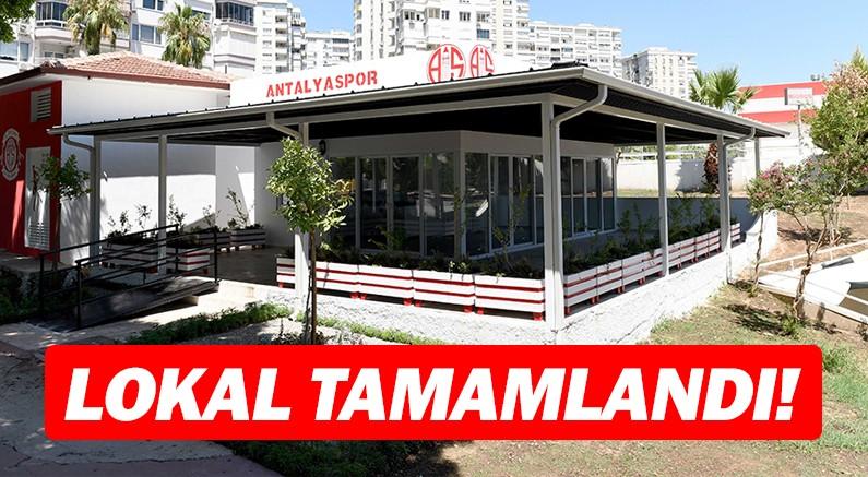 Antalyaspor lokali inşaatı tamamlandı