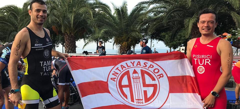Antalyaspor triatlon takımı Balkanlardan 3 madalya ile döndü
