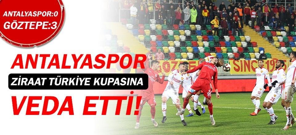 Antalyaspor, Ziraat Türkiye Kupası'na veda etti