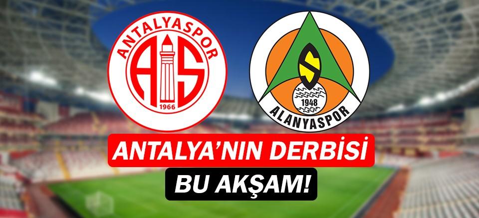 Antalyaspor - Alanyaspor Derbisi ne zaman? Hangi kanalda?  Saat kaçta?