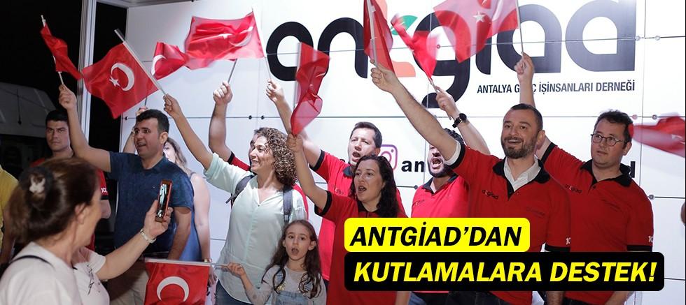 ANTGİAD'DAN 19 Mayıs kutlamalarına destek!