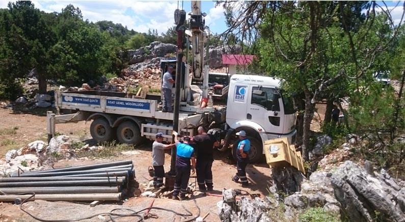 ASAT Akseki'de yedek sondaj kuyusu açtı