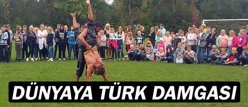 ASAT güreşçileri Estonya'da Türk rüzgarı estirdi...