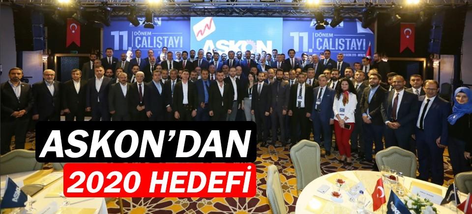 ASKON Antalya'dan 2020 hedefi!