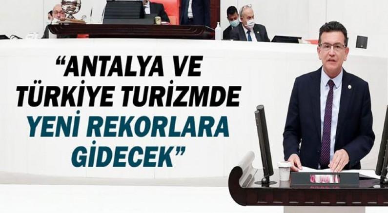 Atay Uslu: Antalya ve Türkiye turizmde yeni rekorlara gidecek!