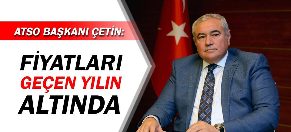 ATSO Başkanı Çetin: Domates fiyatları geçen yılın altında
