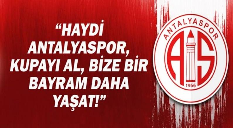 """ATSO Başkanı Davut Çetin: """"Haydi Antalyaspor, kupayı al, bize bir bayram daha yaşat!"""""""