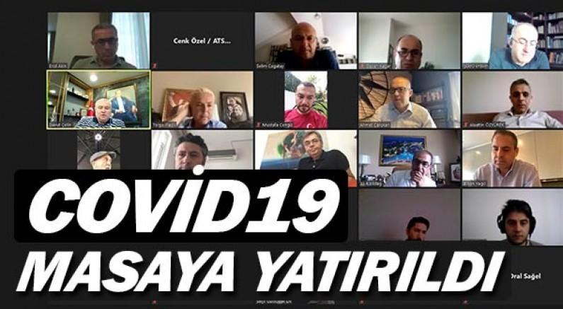 ATSO'da COVID-19'un Antalya'ya etkileri masaya yatırıldı.