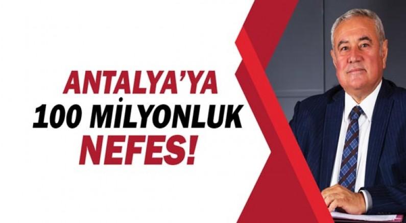ATSO'dan Antalya'ya 100 Milyonluk Nefes