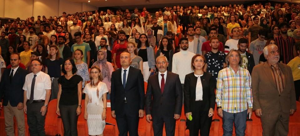 AÜ'de Ulu Önder Mustafa Kemal Atatürk anıldı