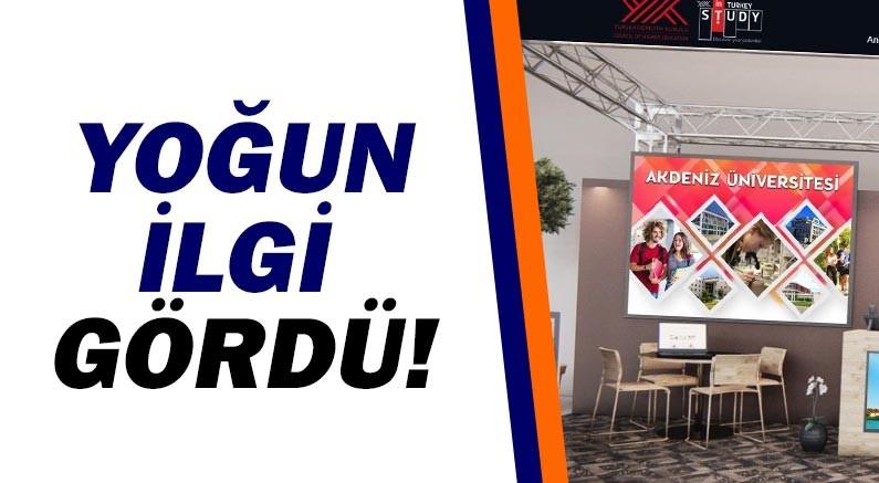 Akdeniz Üniversitesi'ne Study in Turkey YÖK 2020 Sanal Fuarı'nda yoğun ilgi!