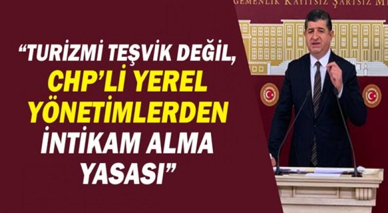 Av.Cavit ARI: Turizmi teşvik değil, CHP'li yerel yönetimlerden intikam alma yasası!