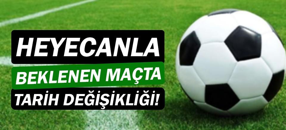 Aytemiz Alanyaspor - Antalyaspor Maçı'nda tarih değişikliği!