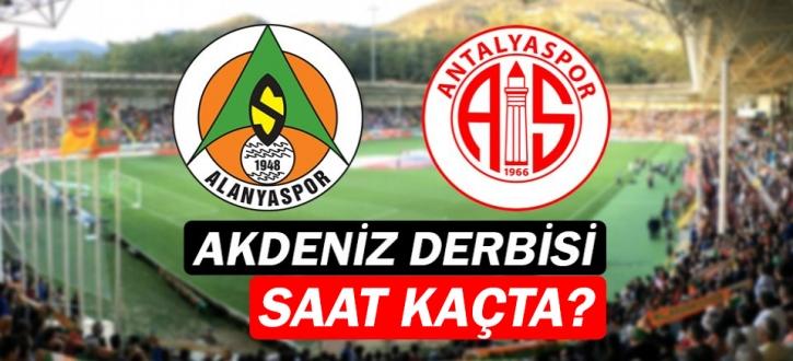 Aytemiz Alanyaspor ile Antalyaspor maçı ne zaman? hangi kanalda? nerede?