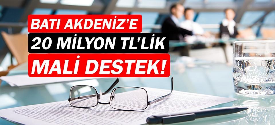 BAKA'dan Batı Akdeniz'e 20 Milyon TL'lik maddi destek!