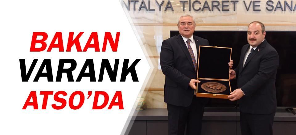 Bakan Mustafa Varank, ATSO'da...