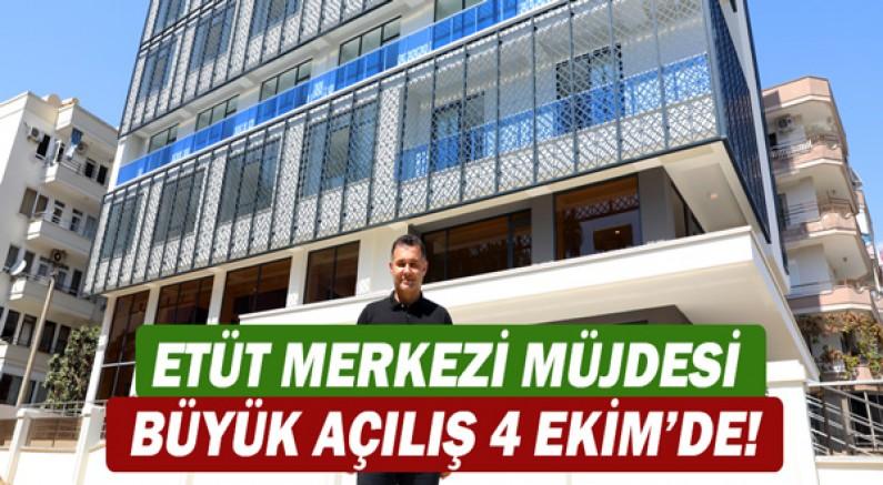 Başkan Adem Murat Yücel'den ETÜT merkezi müjdesi büyük açılış 4 Ekim'de!