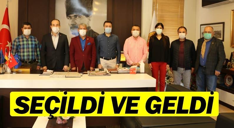 AK Parti Konyaaltı İlçe Başkanı Tayfun Bayar'dan AGC'ye ziyaret
