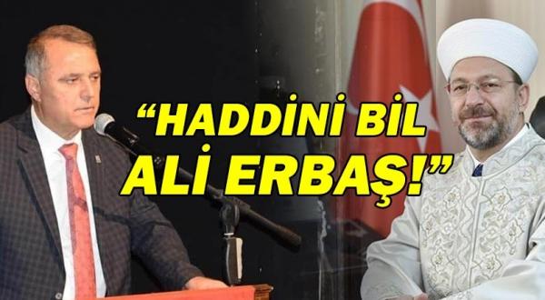 Başkan Bayar'dan Atatürk'ü hedef alan Erbaş'a sert tepki!