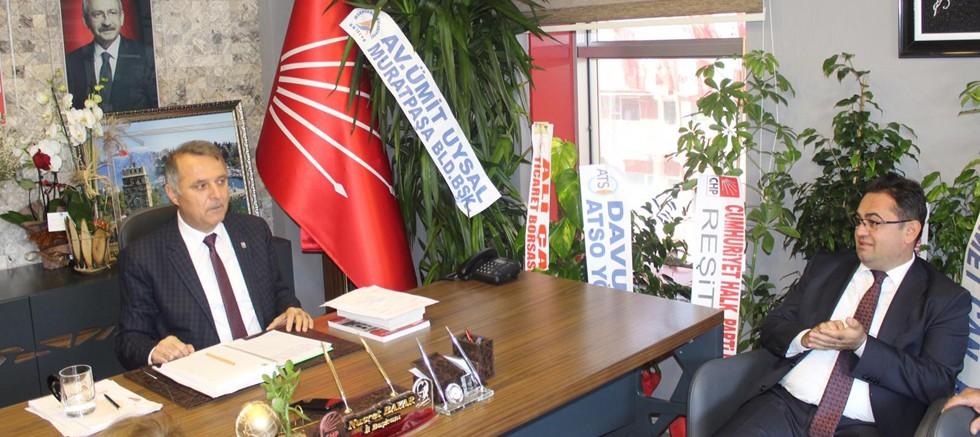 Başkan Küçükkuru CHP İl Başkanı Bayar'ı ziyaret etti