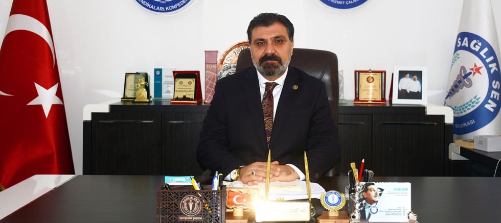 """Başkan Kuluöztürk: """"Poliklinik hizmetleri durdurulmalıdır"""""""