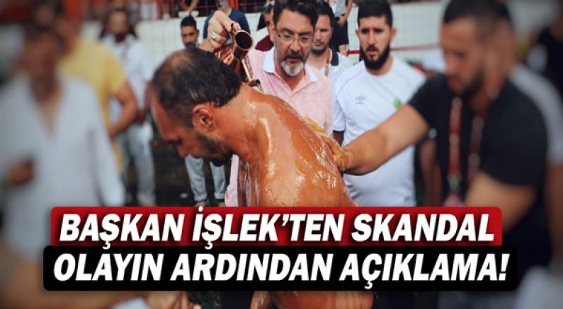 Başkan Ömer İşlek'ten skandal olayın ardından açıklama!
