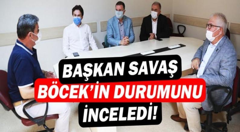Başkan Savaş'tan Muhittin Böcek açıklaması: Enfeksiyon tamamen erdikasyona uğramış!