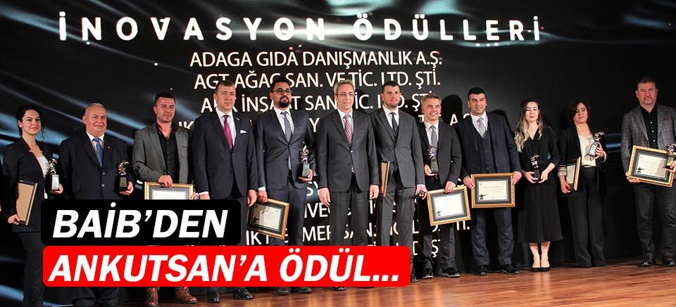 Batı Akdeniz İhracatçılar Birliği'nden Ankutsan'a ödül...