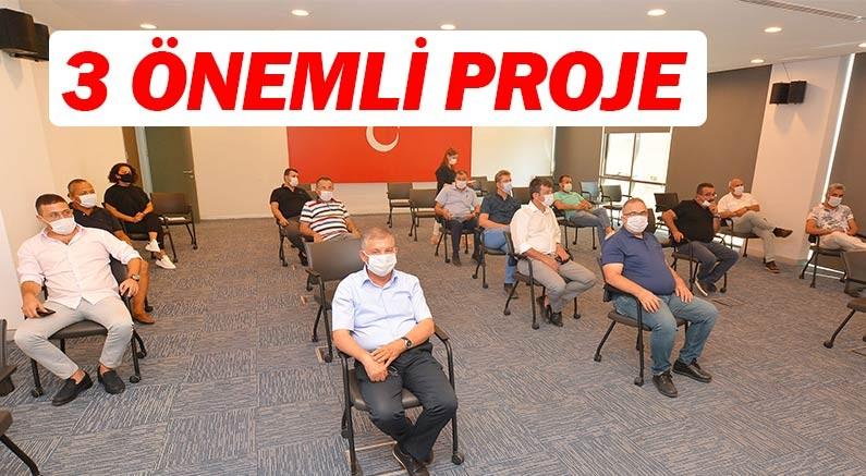 Batı Antalya için 3 önemli proje.